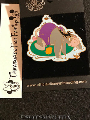 Disney Pin Winnie the Pooh Eeyore Inner Tube Series RETIRED NEW FREE SHIP