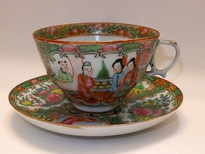 Antique China Cup and Saucer