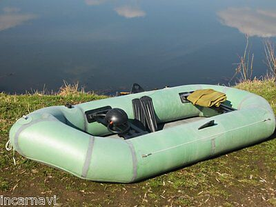 New inflatable rubber boat heavy duty 2 person made in Ukraine army