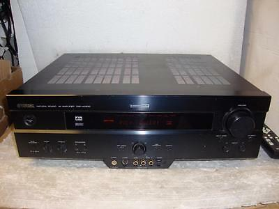 Yamaha DSP-AX620 Home Cinema Amplifier With Remote-Superb Sound.