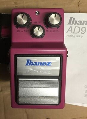 Ibanez AD9 Analog Delay Reissue EXC With Box and Manual MIJ