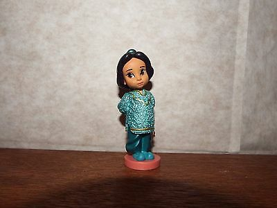 "RARE 3"" Disney Animator's doll deluxe figure Toddler Jasmine figure toy Princess"