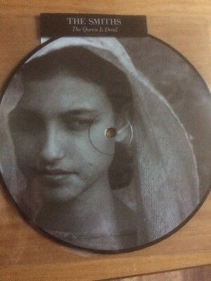 """The Smiths Queen Is Dead 7"""" Picture Disc 7QID2017A / B Morrissey 2017"""
