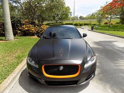 2011 Jaguar XJ Supercharged Sedan 4-Door 2011 XJL SUPERCHARGED MATTE BLACK NAVIGATION REAR VIEW CAM PANORAMIC SUNROOF FL