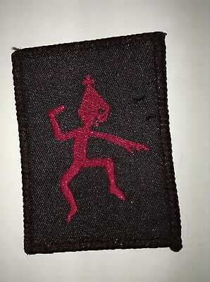 Girl Guides Brownies vintage Sixes badge - Leprechaun