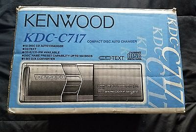 10 Disc CD Changer Player Kenwood KDC C717 High Speed Anti Vibration Compact NEW