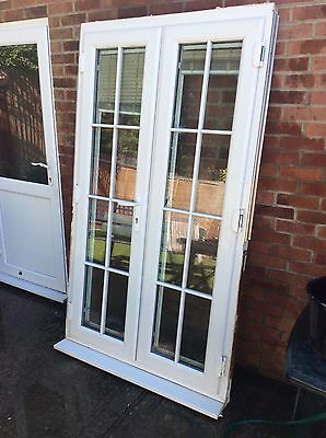 Upvc French Doors/  Patio Doors / Conservatory Doors & Frame With Keys *relisted