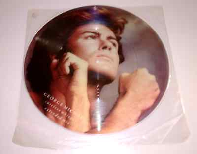 George Michael Careless Whisper CLEAR Rim Pic Disc IMPOSSIBLE To Ever Find. Wham