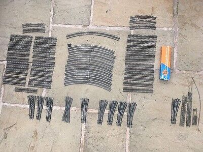 Hornby OO Nickel Silver Track And Points Job Lot