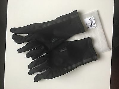 Rapha Pro Team Softshell Men's Gloves, Black size XL