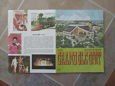 Grand Ole Opry Program Dated March 12 & 13, 1976