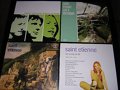 "3 Saint Etienne Album Sleeves + 12"" Single Sleeve"
