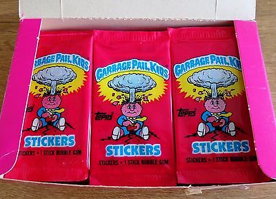 Garbage Pail Kids Topps Ireland 1985 UK Series 1 ~ 3 x Unopened Packs NO BARCODE