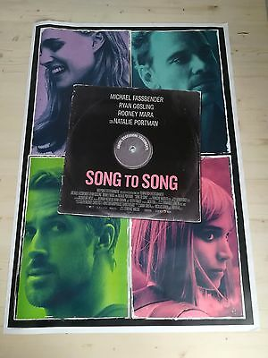 Poster Film SONG TO SONG Ryan Gosling - Originale Cinema 70x100