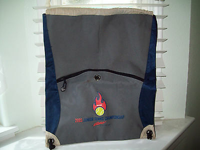 2005 Aloha Airlines Tennis Racket Backpack