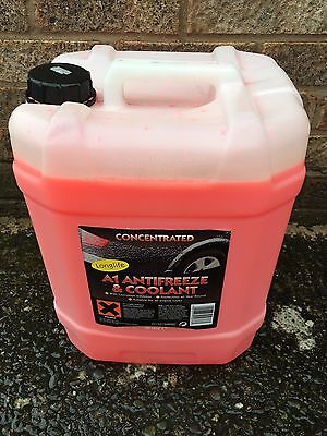Longlife Antifreeze Red Coolant 20L Concentrate 5 Year Life