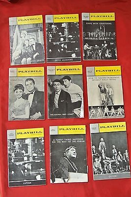 Luther Oliver Philadelphia Funny Girl High Spirits Broadway Playbill Theater Lot