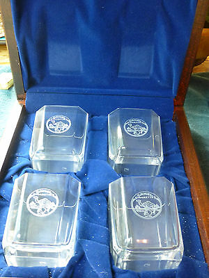 Vintage Camel Cigarettes 75th Anniversary set of tumblers in collectible box