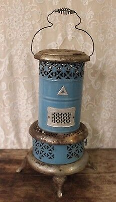 ANTIQUE 1900'S ORIGINAL BLUE PERFECTION SMOKELESS OIL HEATER/STOVE No 630