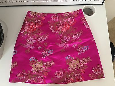 new look Teens Skirt Age 12 Oriental Print Pink In The Style Of Dollz Kill
