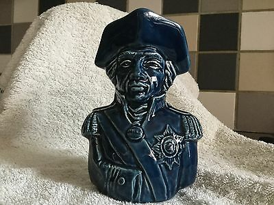 Vintage Lord Nelson Toby Character Jug Holkham Pottery Rare