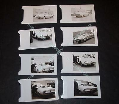 "(EIGHT) 1967 Ford MUSTANG GT & MUSTANG Fastback ORIGINAL 4 x 6"" AD AGENCY PHOTOS"