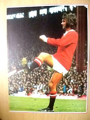 Org Hand Signed Press Cutting-ANDREI KANCHELSKIS,UKrainian FC & GEORGE BEST PIC