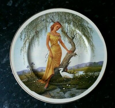 The seasons of the year plate by Charlotte Sternberg, 'Spring'