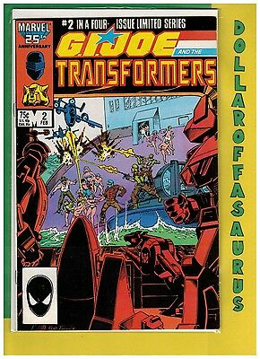 G.I. Joe and the Transformers #2,3,4 (1987 Marvel) VF+ 8.5 Comic Lot