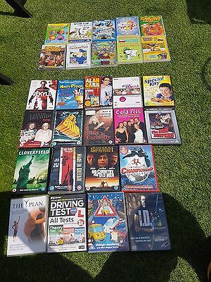 bundle of dvds - kids, comedy, drama, all sorts