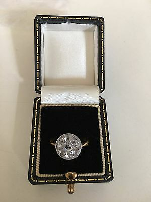 Antique Rose cut diamonds ring Circa Victorian Era Size I 1/2 Offers Welcomed!!
