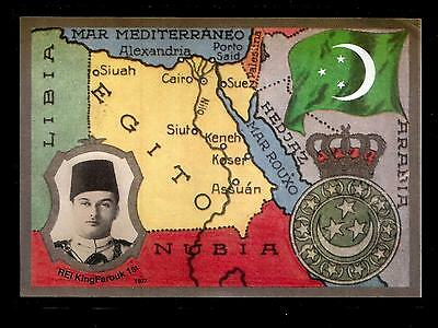 Egypt Historical Label Issued By Mohamed Ali Royal Club King Farouk Anniversary