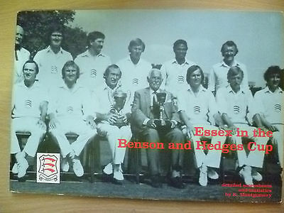 Cricket- 1980 ESSEX in the  Benson & Hedges Cup by K Montgomery
