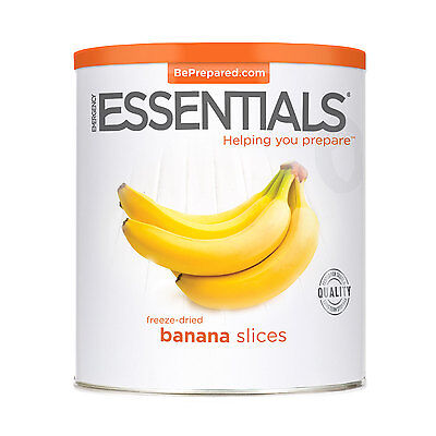 Freeze Dried Banana Slices can