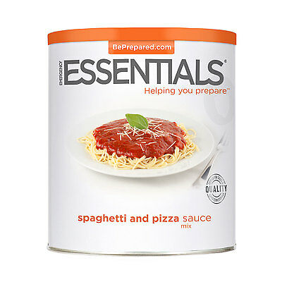 Spaghetti and Pizza Sauce Mix can