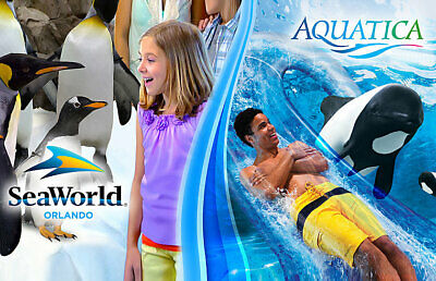 Seaworld Orlando + Aquatica Florida 14 Day Ticket Savings Promo Discount Tool