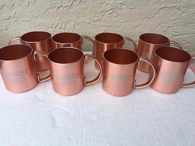 Smirnoff Vodka Copper Moscow  Mule Mugs New