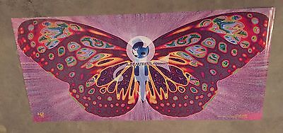 """Prince Poster Beautiful Experience 1994 Huge 18""""x40"""" Sz Butterfly Mint"""
