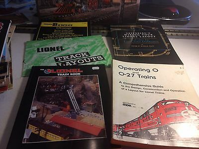 Railroad Books -Lionel Lot Of 4 Train Books -Lqqk -Good -B36