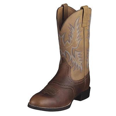 Ariat Men's Heritage Stockman Western Boot Size 11 D w/Tags Free Mail