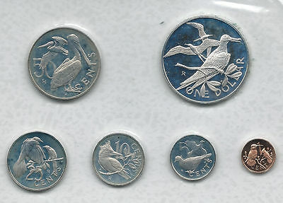 British Virgin Islands 1973 Proof Set