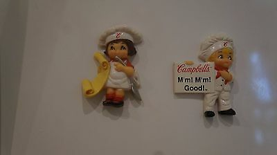CAMPBELLS SOUP KIDS  TWO Refrigerator Maganets