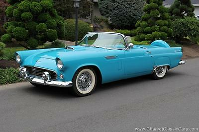 1956 Ford Thunderbird Thunderbird 1956 Ford Thunderbird - Peacock Blue/White. EXCELLENT! See VIDEO