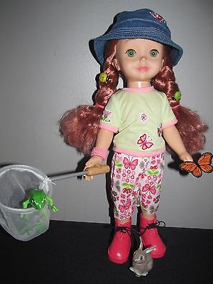 """Playmates Amazing Amy Little Friends 15"""" Interactive Talking Doll Clothes Shoes"""