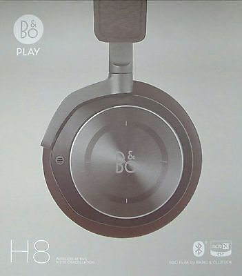 *SAVE £120* B&O PLAY by BANG & OLUFSEN H8 Headphones Gray Hazel BRAND NEW IN BOX