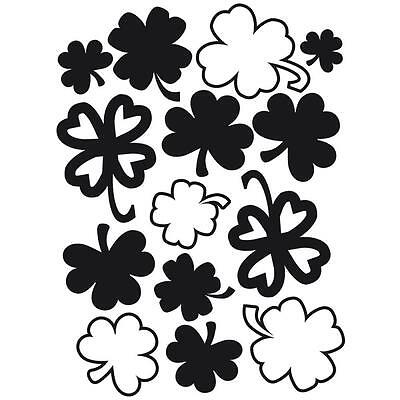 Darice Embossing Folder St. Patrick's Shamrocks   1218-47