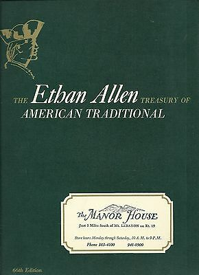 Ethan Allen Treasury of American Traditional Catalog 66th Edition Home Decor VG+