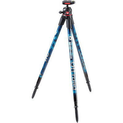 Manfrotto Off road Aluminum Tripod with Ball Head (BLUE) - MKOFFROADB - NEW