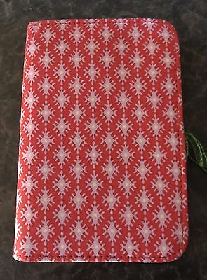 Vera Bradley Fabric Journal with Pen - Petite Paradise Red - NWT