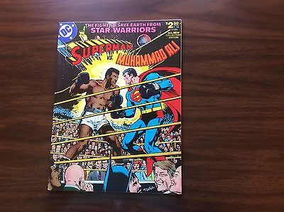 DC Limited Collectors Ed. C-56 Superman vs Muhammad Ali, 1st Edition, High Grade